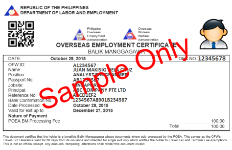 Ask Kabayan | Philippine Overseas Labor Office in Dubai
